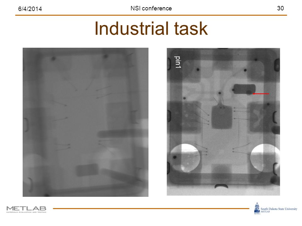 Industrial task 6/4/2014 30NSI conference