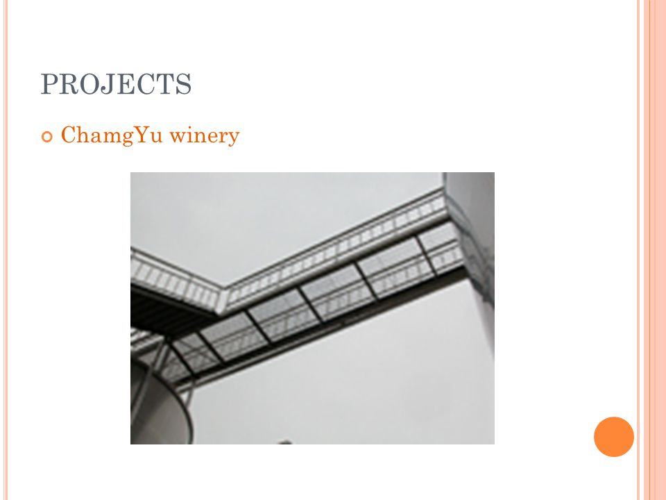 PROJECTS ChamgYu winery