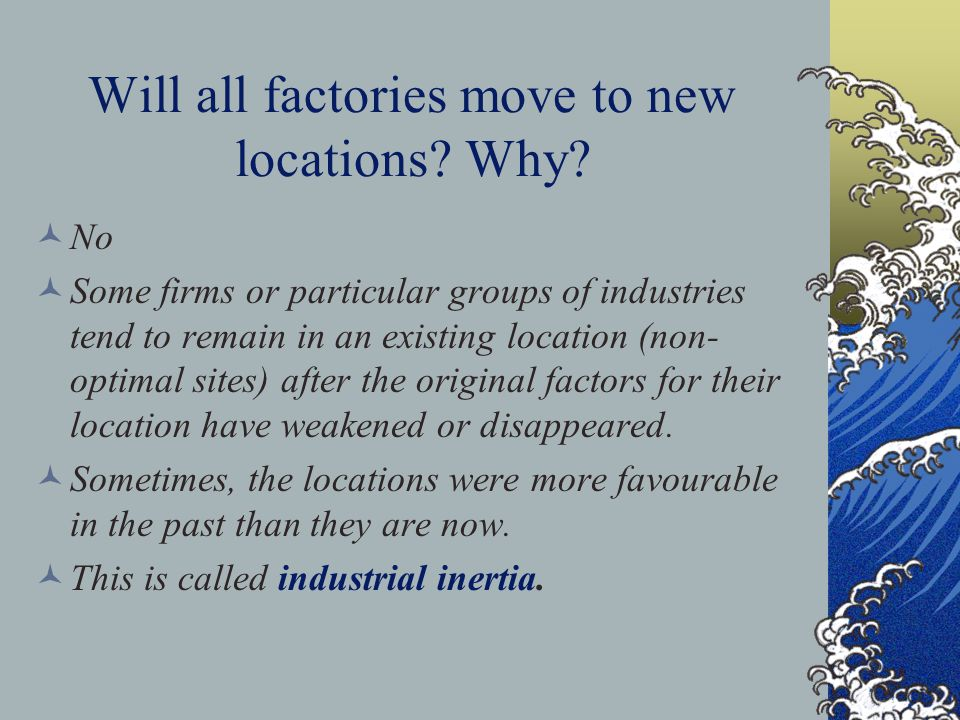 Reasons for indsutrial relocation large cities can provide scrap metal can replace pig iron