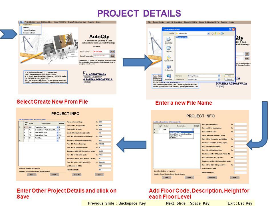 ARCHITECTURAL SCHEDULES Select Architectural From Add / Edit Schedules Wall SchedulePlaster Schedule Paint ScheduleDoor Schedule