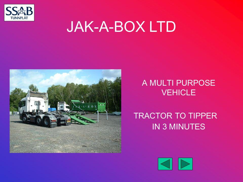 JAK-A-BOX LTD Beavertail Machinery Transporter