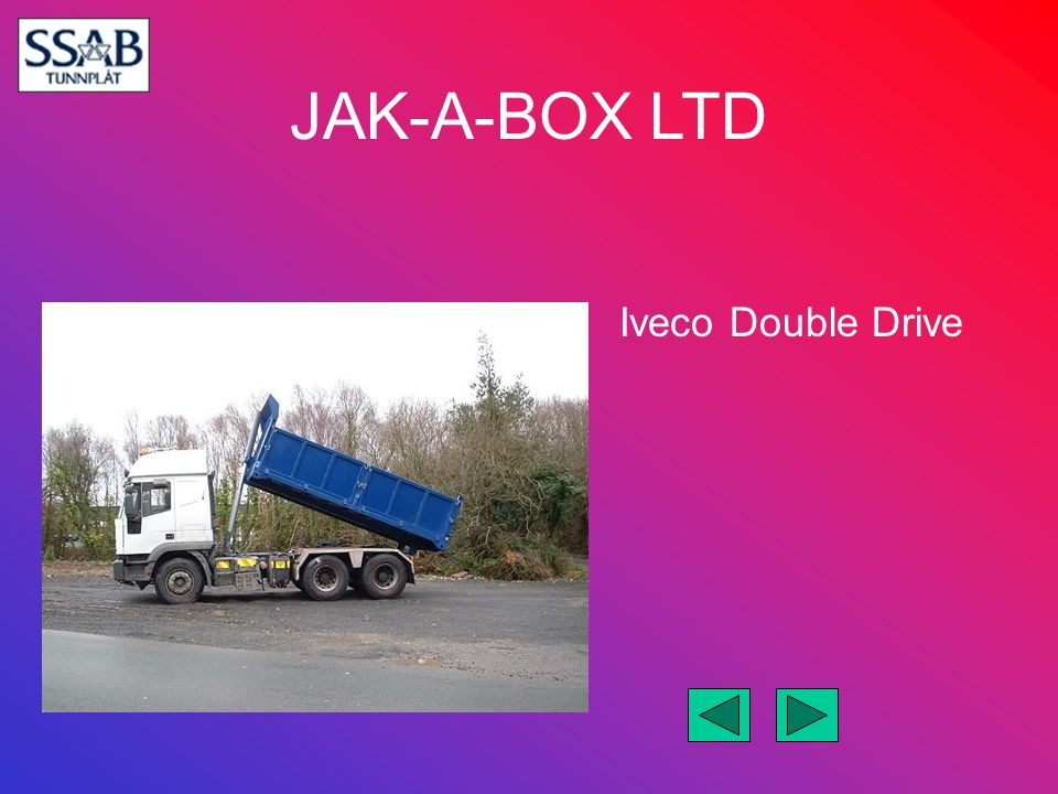 JAK-A-BOX LTD Iveco Double Drive