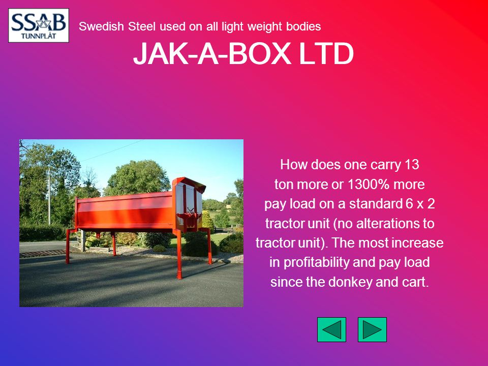 JAK-A-BOX LTD Is this possible.YES YES YES What is the trick .