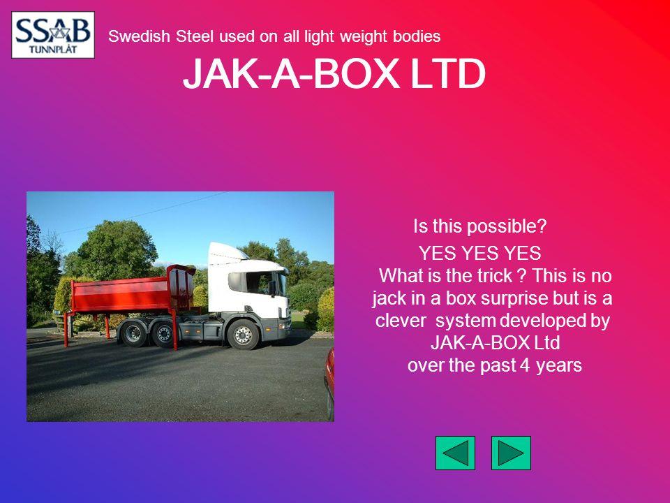 JAK-A-BOX LTD FM12 Volvo Globetrotter