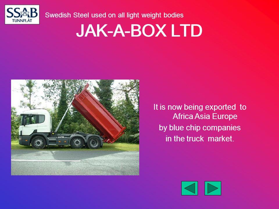 JAK-A-BOX LTD Our web site www.