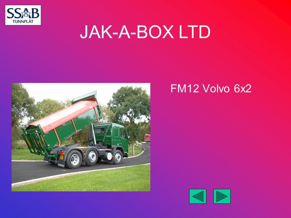 JAK-A-BOX LTD Double Drive Merc 6x4 on Air
