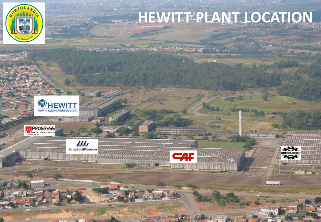 HEWITT PLANT LOCATION