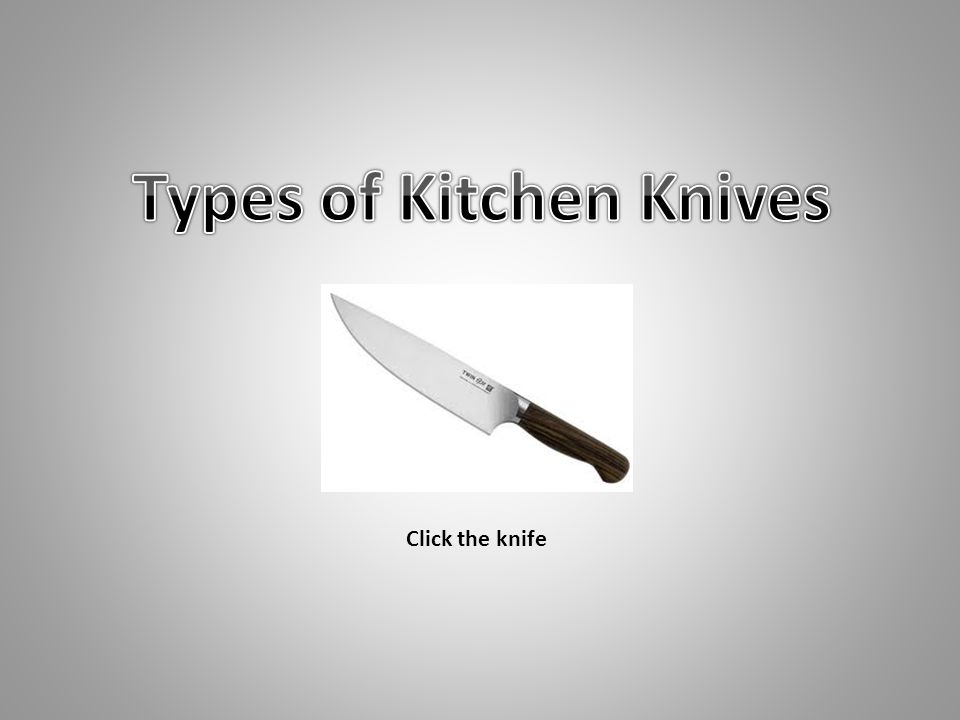 Click the knife