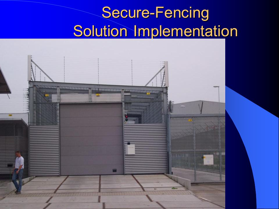 Secure-Fencing Solution Implementation V on Fences Fixed installation using Flextops