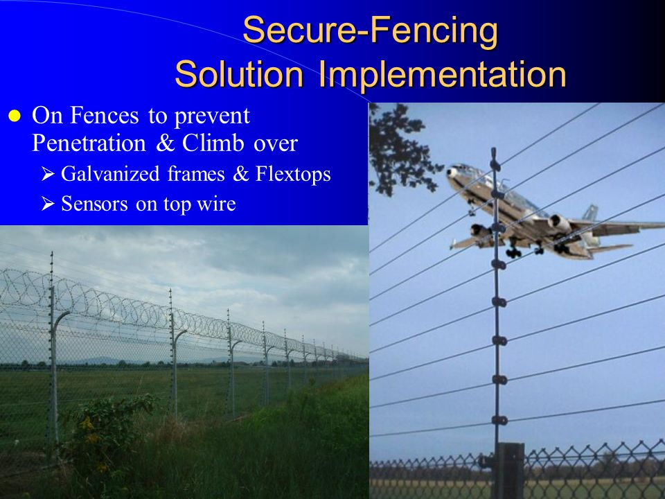 Secure-Fencing The Safe Technology Why is it safe.