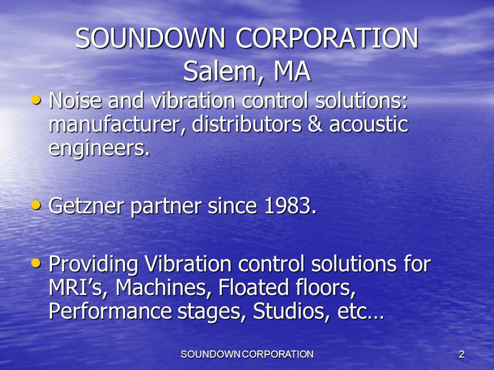 SOUNDOWN CORPORATION23