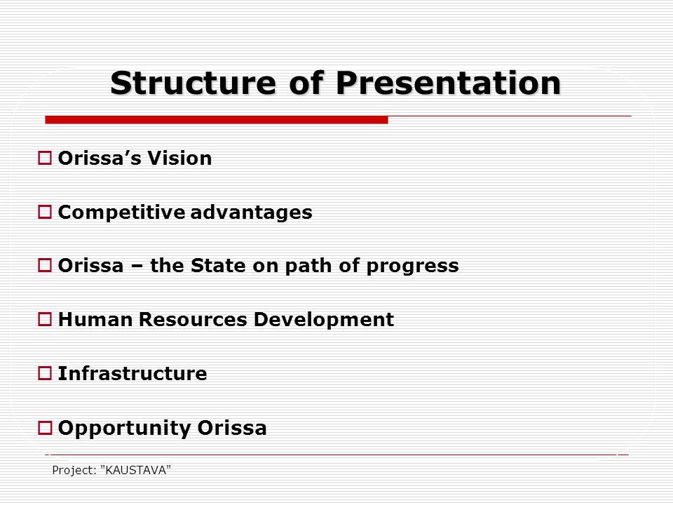 Project: KAUSTAV ORISSA