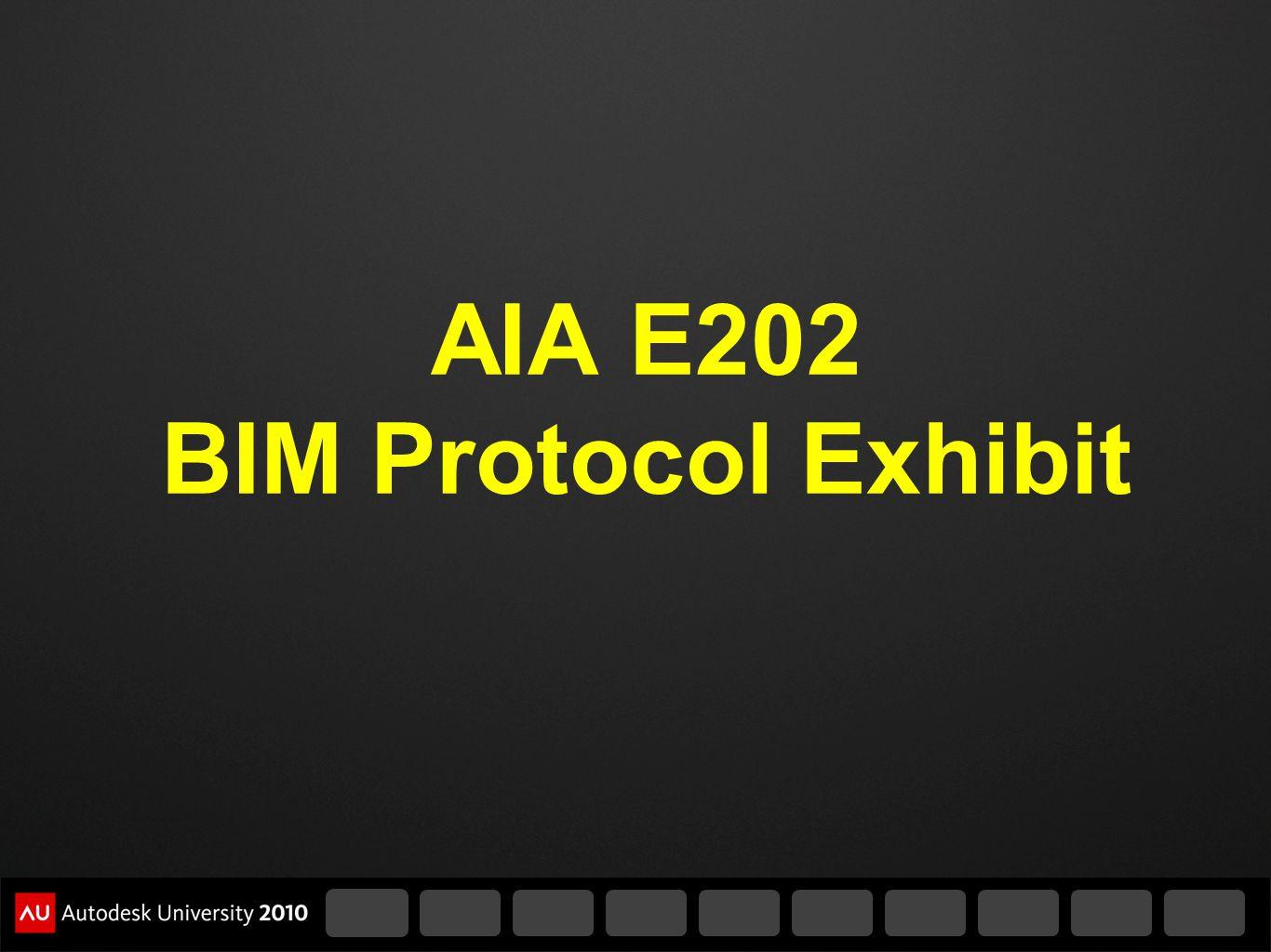 AIA E202 BIM Protocol Exhibit