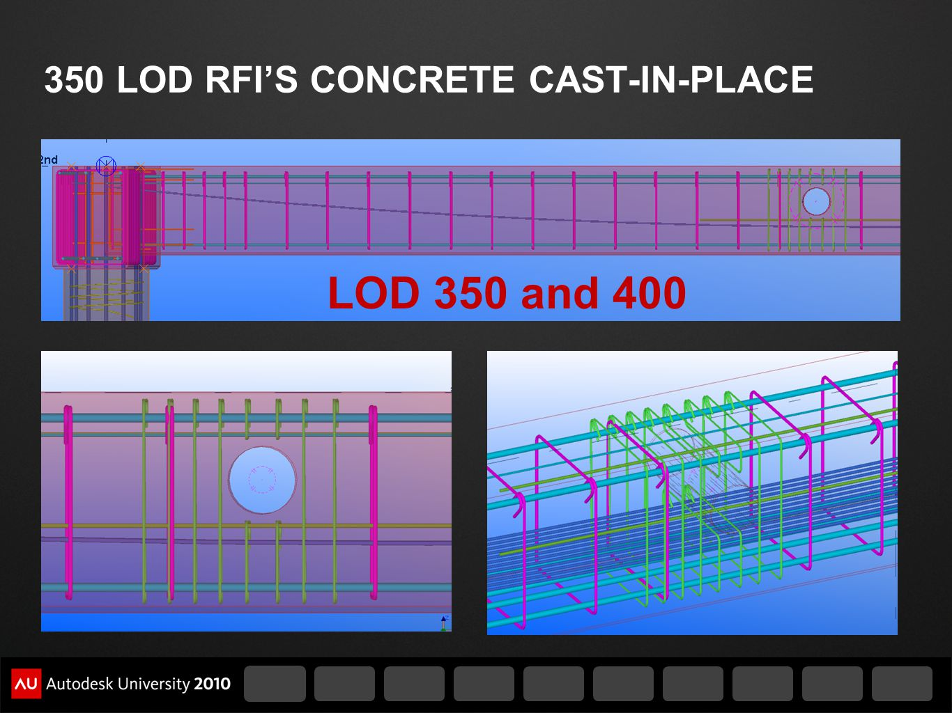350 LOD RFIS CONCRETE CAST-IN-PLACE LOD 350 and 400