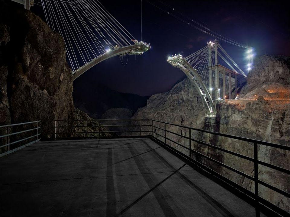 Reinforced concrete twin Arch connected by steel struts Steel strut