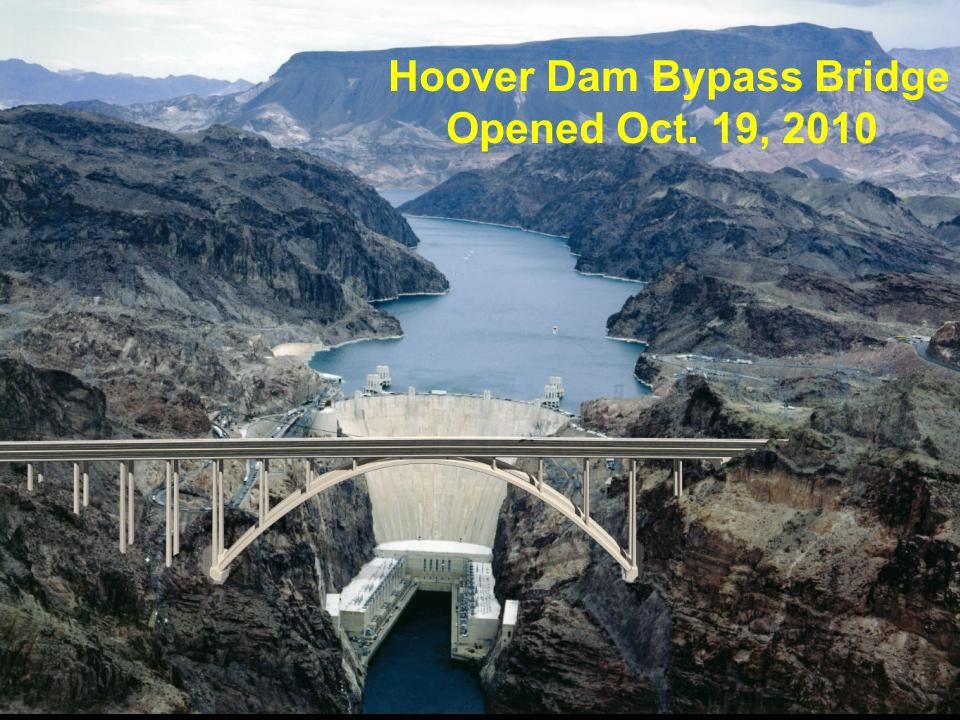 Hoover Dam Bridge over Colorado River