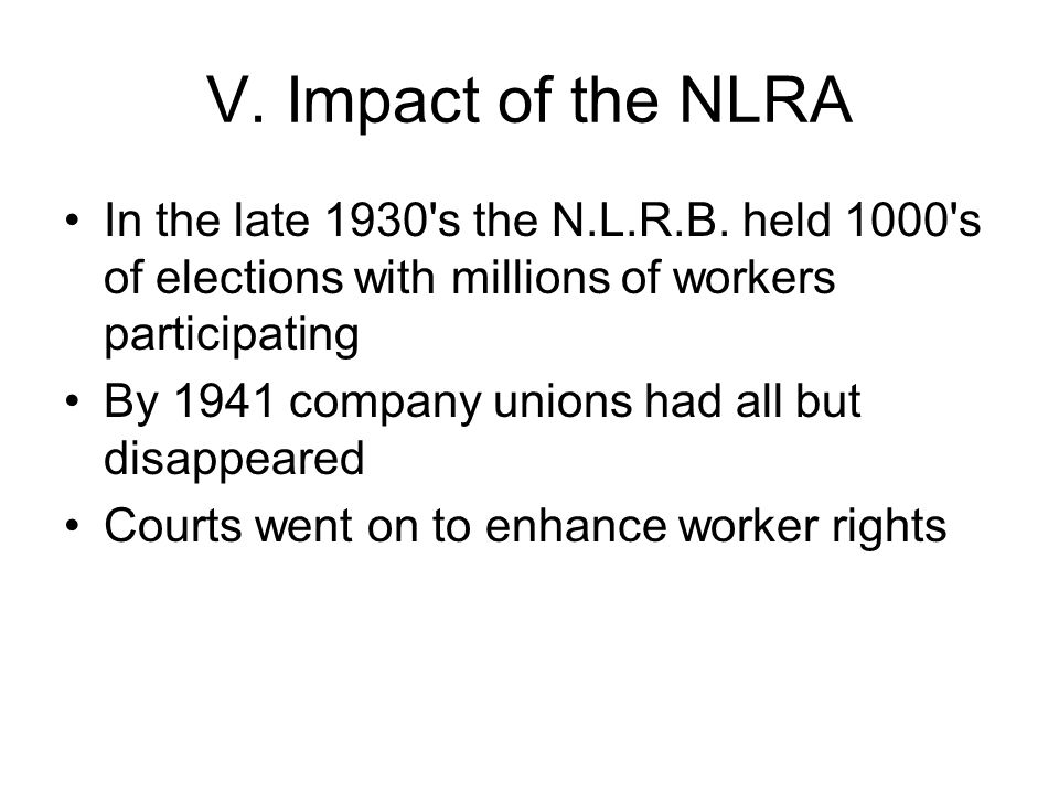 Next Time The New Deal Racial Issues Developments in the Union Movement The Sit-down strikes Employers in the 1930s