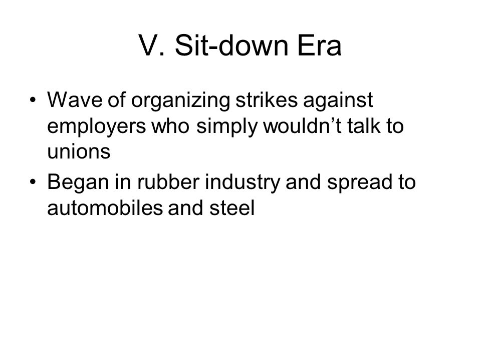 Steel Organizing Campaign in steel begun by the CIO in 1936 Steel Workers Organizing Committee Presence of communists among CIO organizers gave employers a propaganda tool