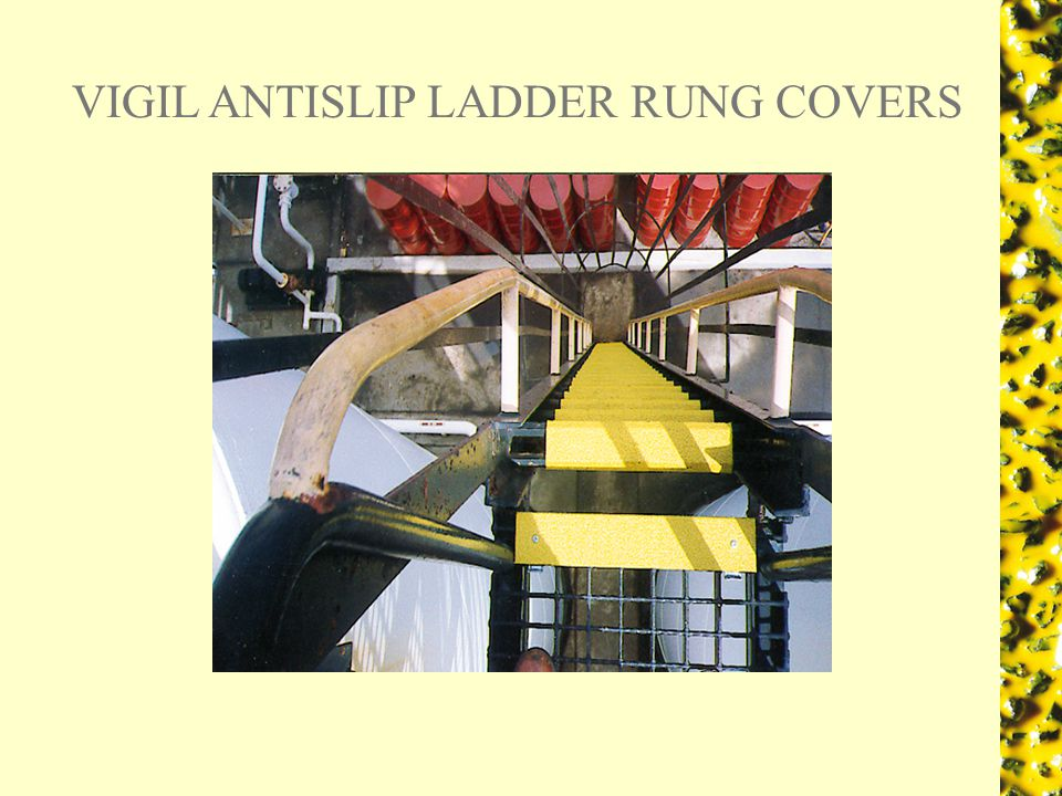VIGIL ANTISLIP LADDER RUNG COVERS
