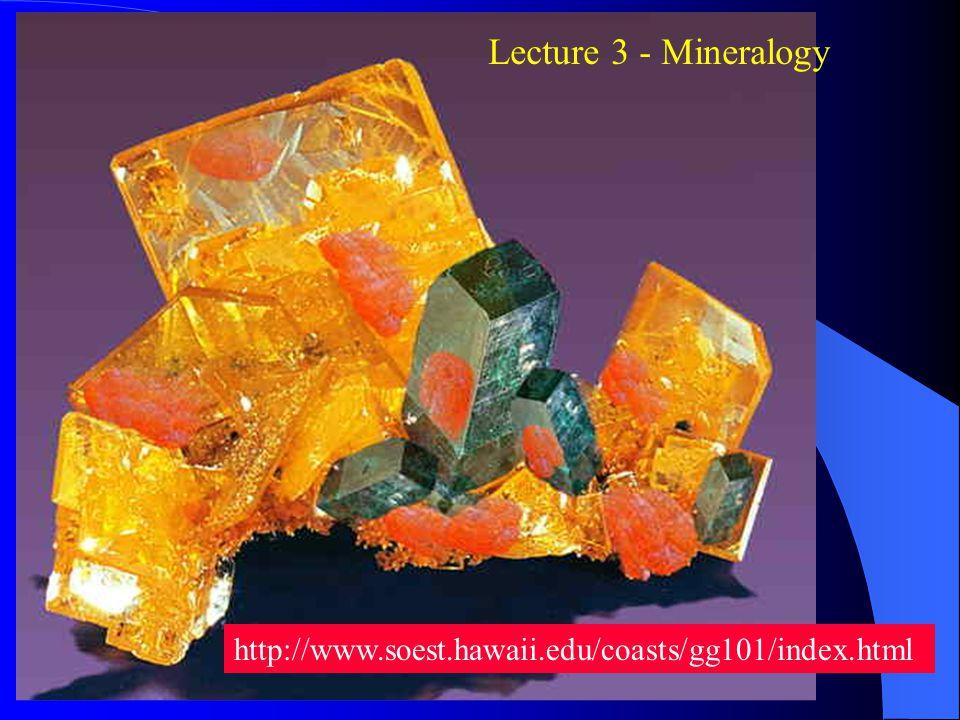 Atoms build Molecules build Minerals build Rocks build Earths Crust