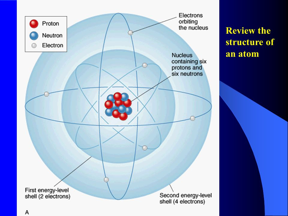 Structure of the Atom - 8 If we drew a hydrogen atom to scale, making the nucleus the diameter of a pencil, the electron would orbit about 0.5 km from the nucleus.
