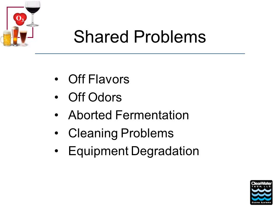 O3O3 Traditional Sanitizers Chlorine Dioxide Pitting in Stainless Steel Off Flavor Chemical Handling Safety