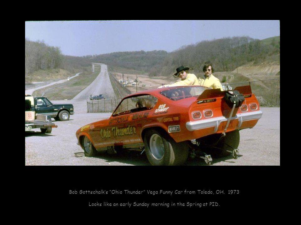 Bob Gottschalks Ohio Thunder Vega Funny Car from Toledo, OH.