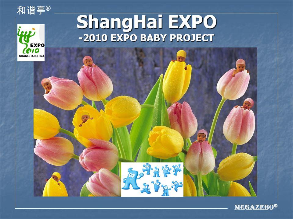 Megazebo ® ® ShangHai EXPO -2010 EXPO BABY PROJECT