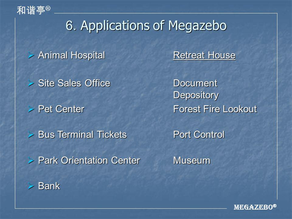 Megazebo ® ® 6.