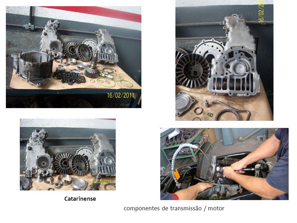 Catarinense componentes de transmissão / motor
