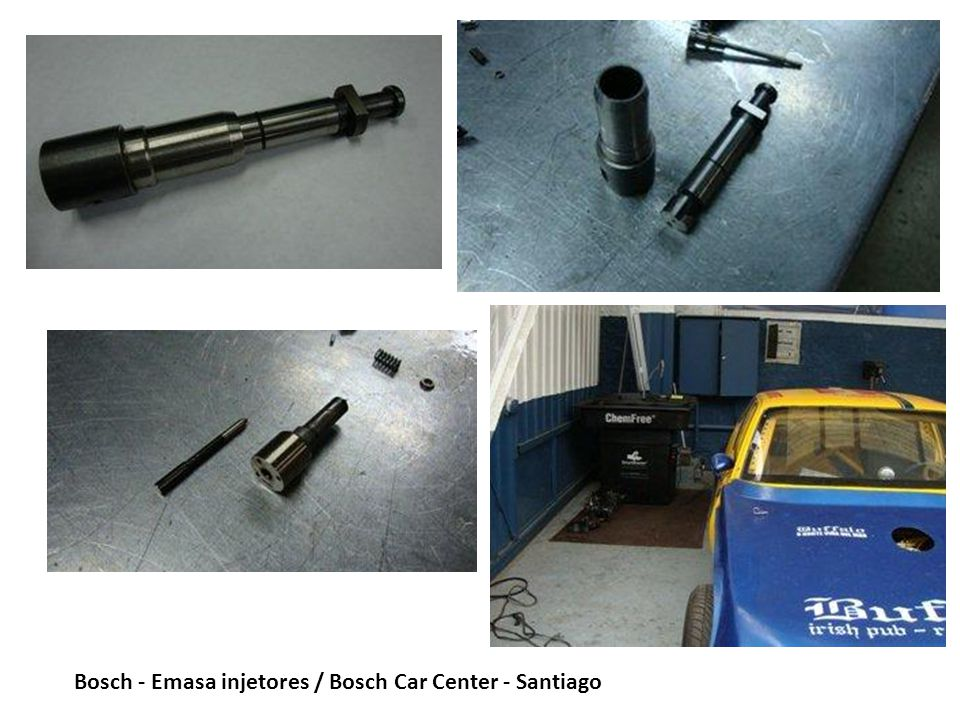Bosch - Emasa injetores / Bosch Car Center - Santiago