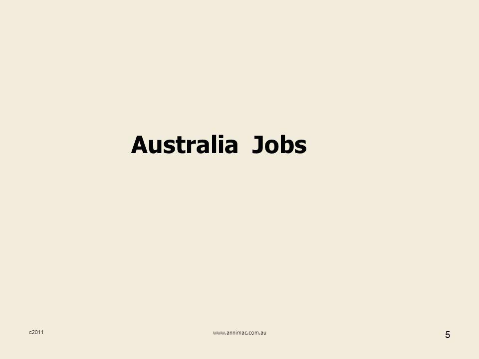 c2011www.annimac.com.au 5 Australia Jobs