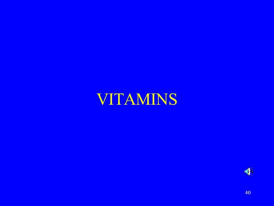 40 VITAMINS