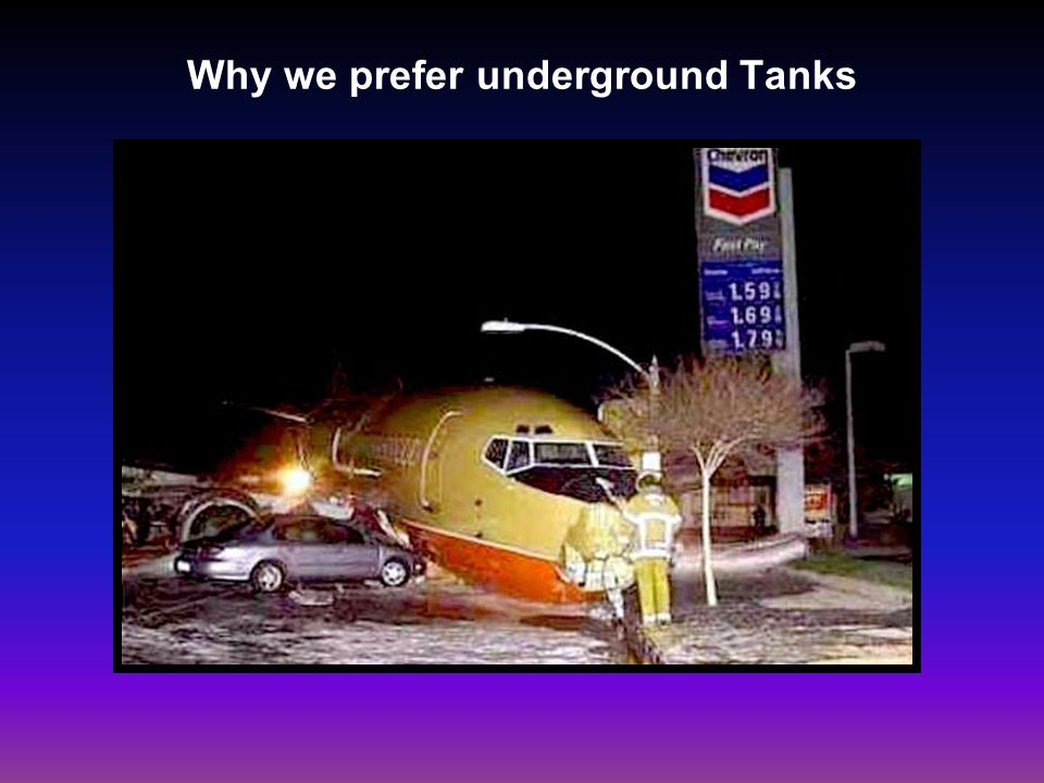 Why we prefer underground Tanks