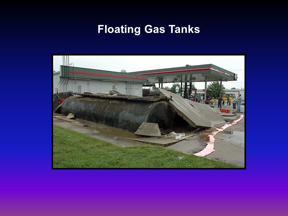Floating Gas Tanks