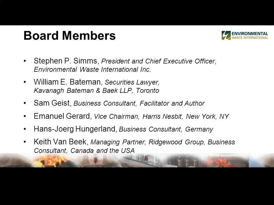 Board Members Stephen P.