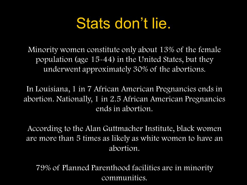 Planned Parenthood Facts Over 98% of women counseled by Planned Parenthood in 2000 chose abortion over adoption or parenting Abortions outpace adoptio
