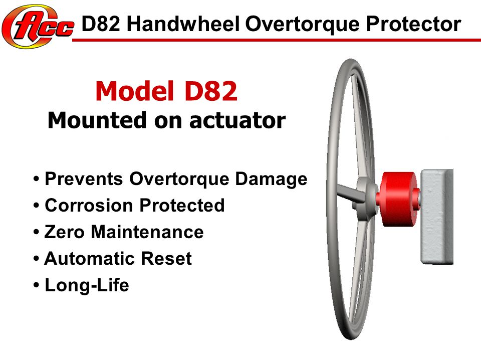 Model D86MWR-400 Other Products 1-3/4 Nut and Socket 400 lbft Trip Torque