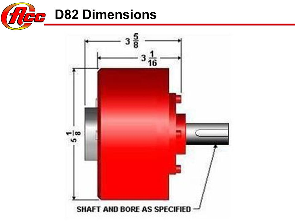 D82 Information Plate Optional Plate Shows Valve Information