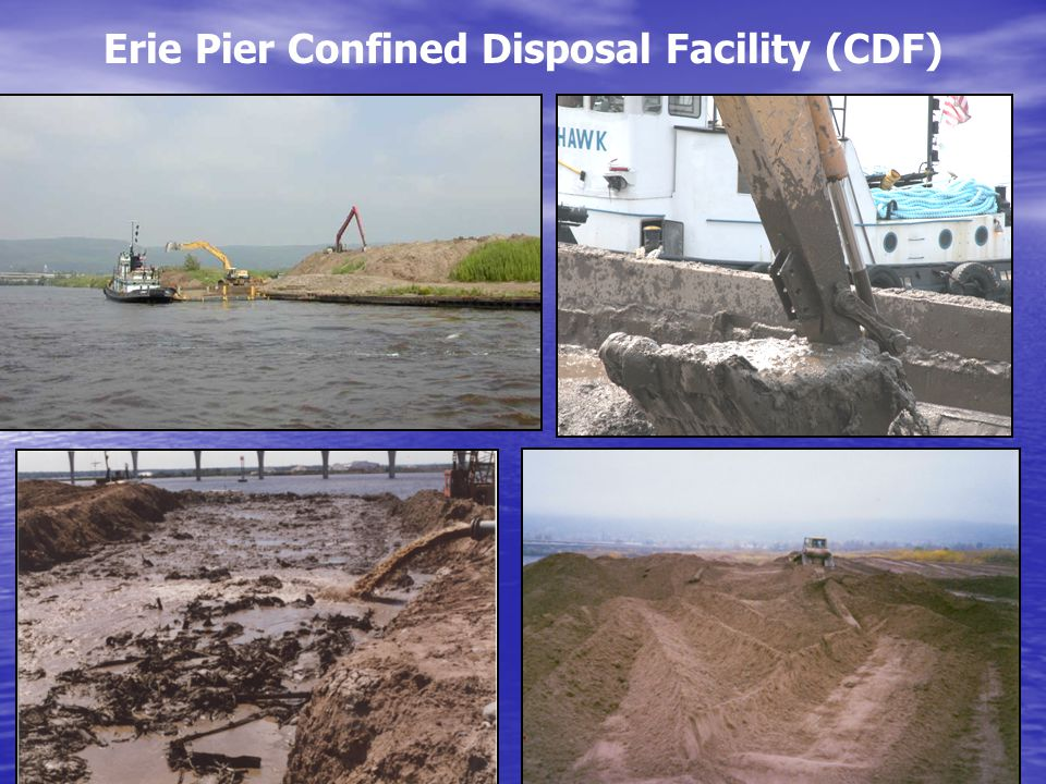 Erie Pier Confined Disposal Facility (CDF)