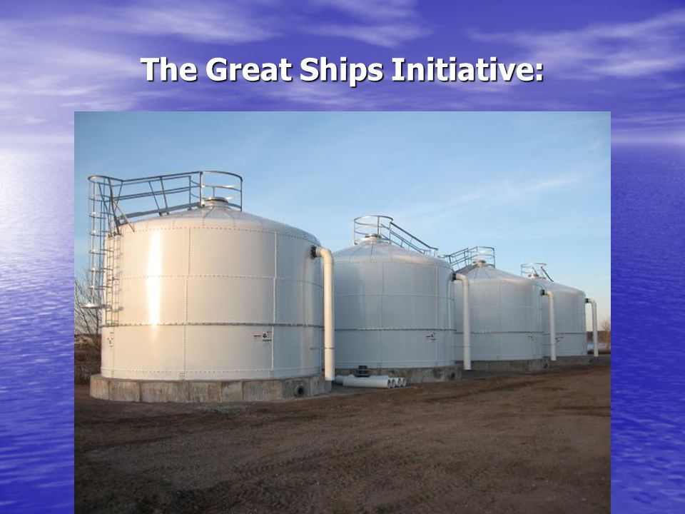 The Great Ships Initiative:
