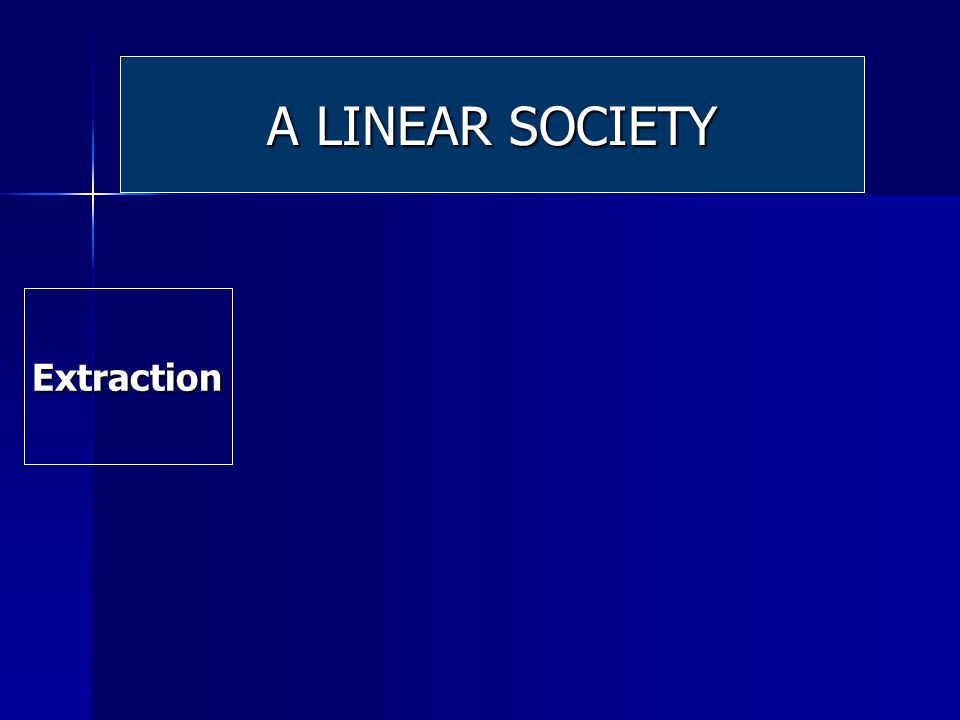 Extraction Extraction A LINEAR SOCIETY