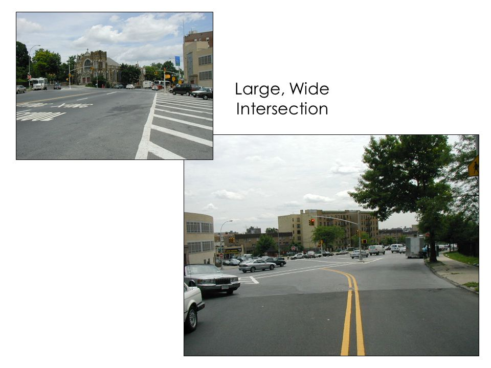 Large, Wide Intersection