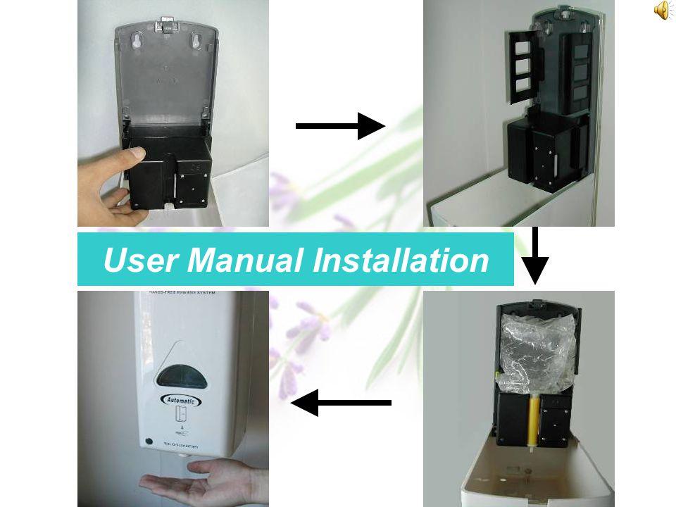 Hand Sanitizer Dispenser System Instruction for ASR5-5 Hand Sanitizer Dispenser System Instruction for ASR5-5 H and Sanitizer Dispenser System ASR5-5