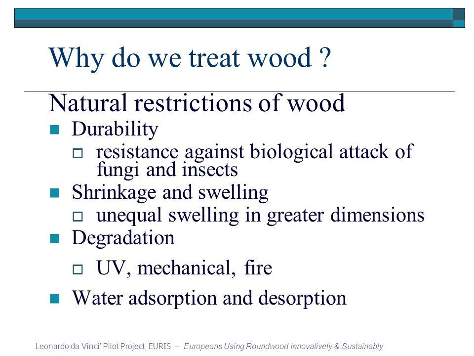 Why do we treat wood .