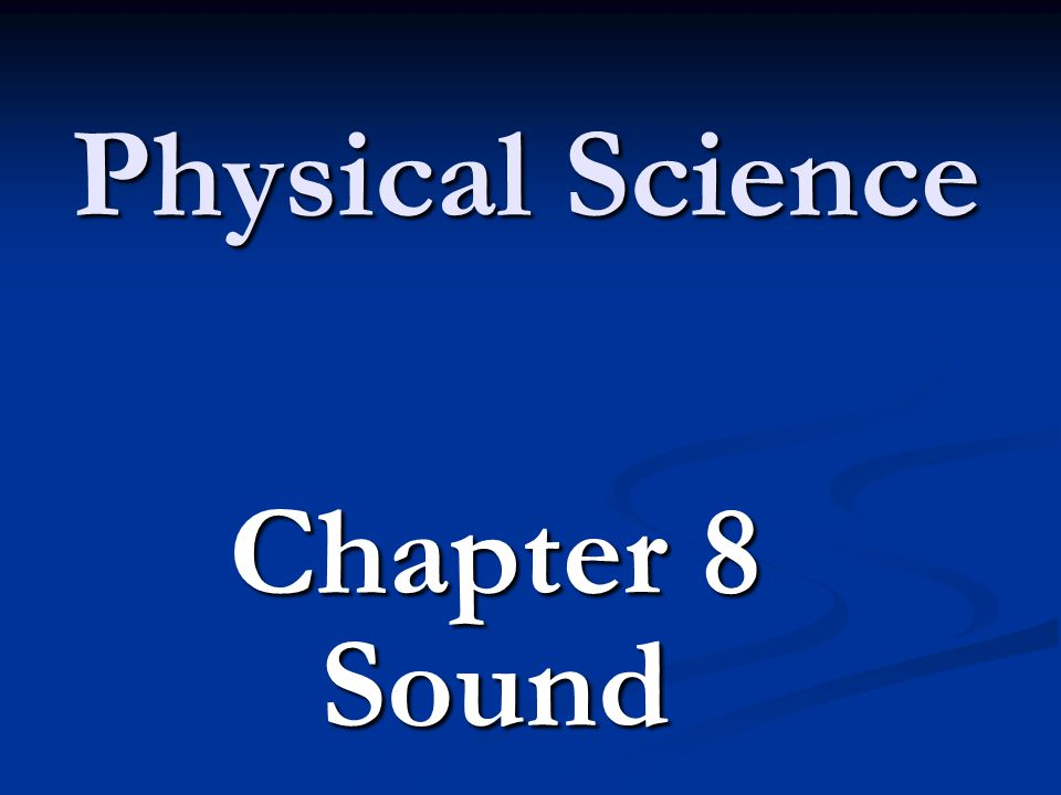 Sound Sounds are longitudinal waves that require a medium to travel caused by the vibrations of an object.