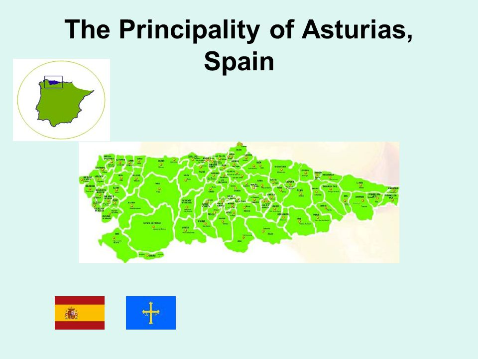 The Principality of Asturias, Spain