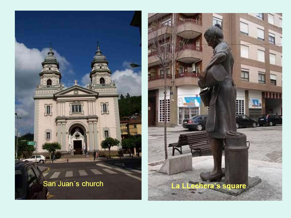 San Juan´s church La LLechera´s square
