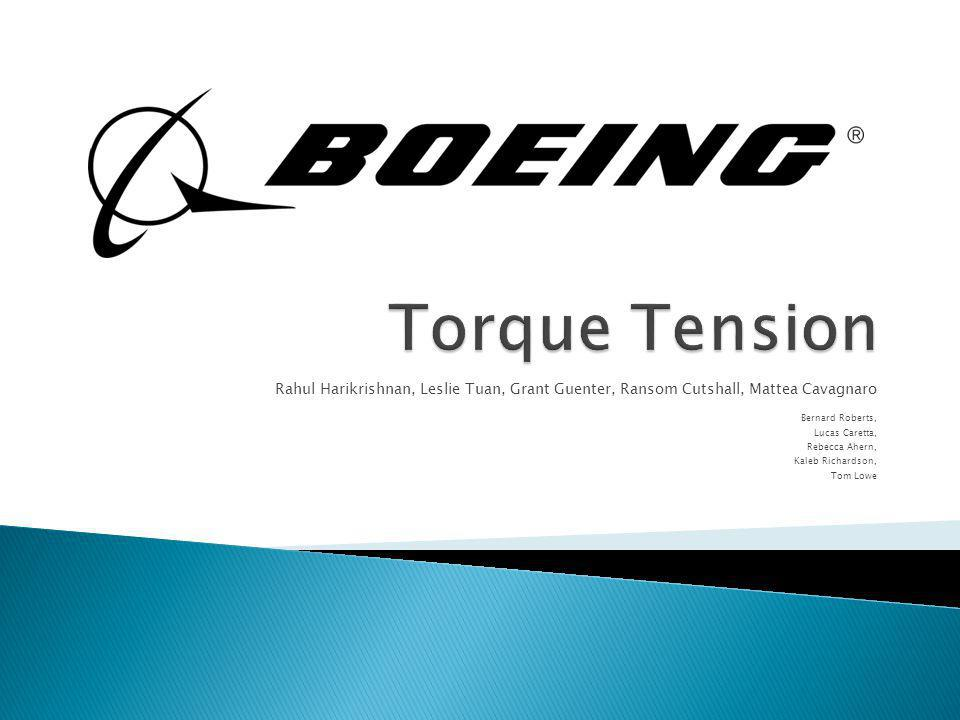 Boeing Fastener and Lubrication Test Facility Tested the effect of various lubricants on the amount of torque required to achieve a specific tension of passivated steel bolts.