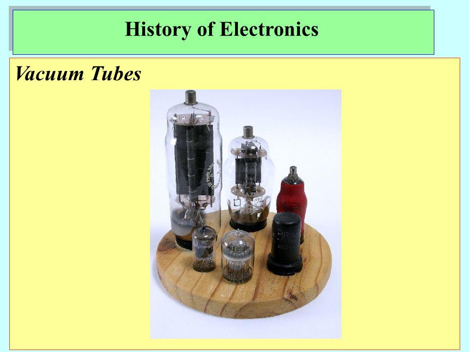 Electronics Technology History of Electronics
